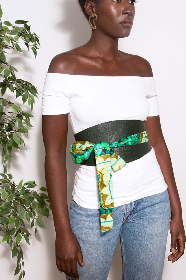 Circles-green-obi-wraparound-belt